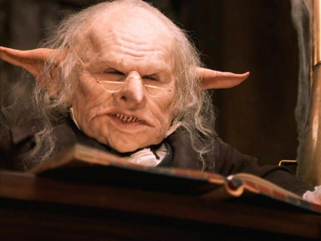 Гоблин бюрократ, Harry Potter film series