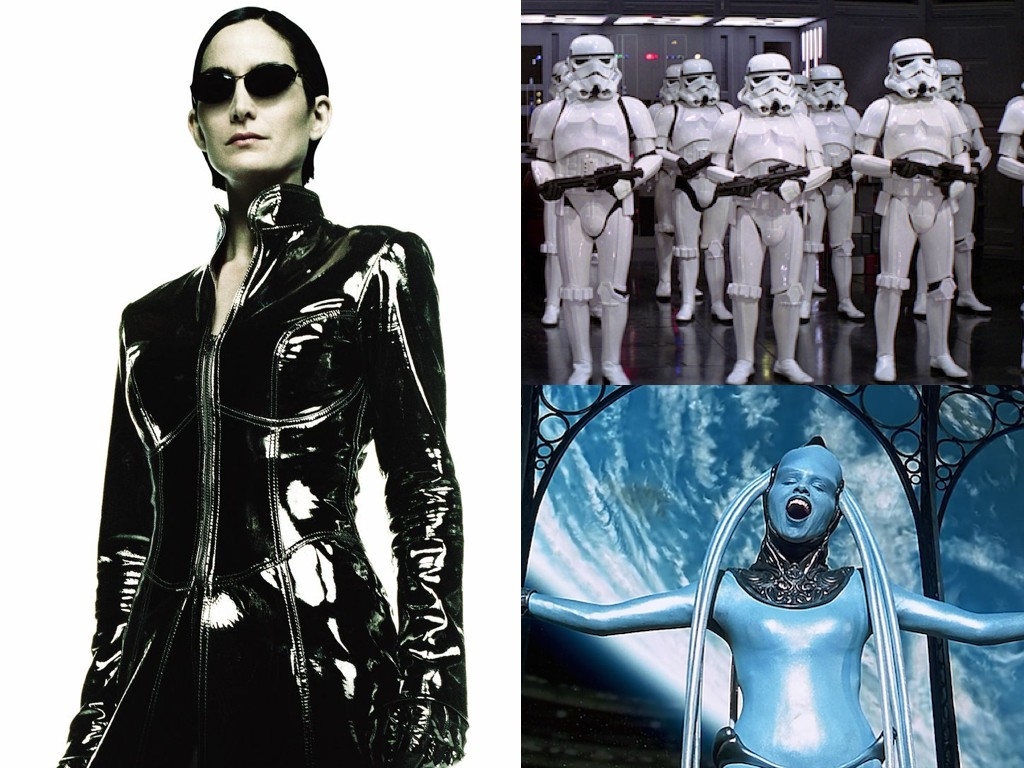 The Matrix 1999, Star Wars 1977, The Fifth Element 1997