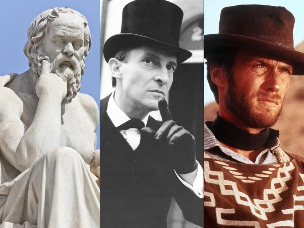 Сократ, Шерлок Холмс и Мъжът без име – трима от детските ми герои