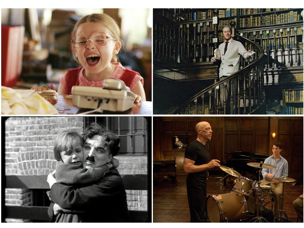 Little Miss Sunshine 2006, The Kid 1921, My Fair Lady 1964, Whiplash 2014