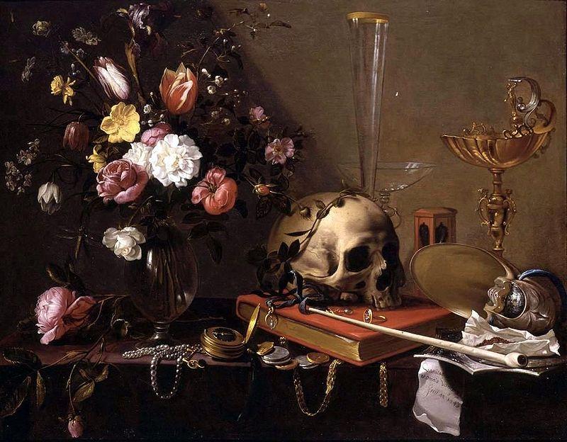 """Суети"", натюрморт на Адриан ван Утрехт (1599-1652)"