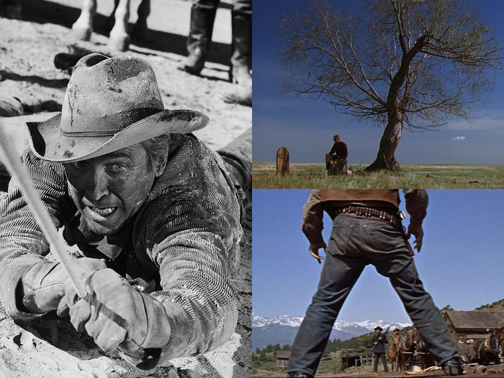 The Man from Laramie 1955, Unforgiven 1992, Saddle the Wind 1958