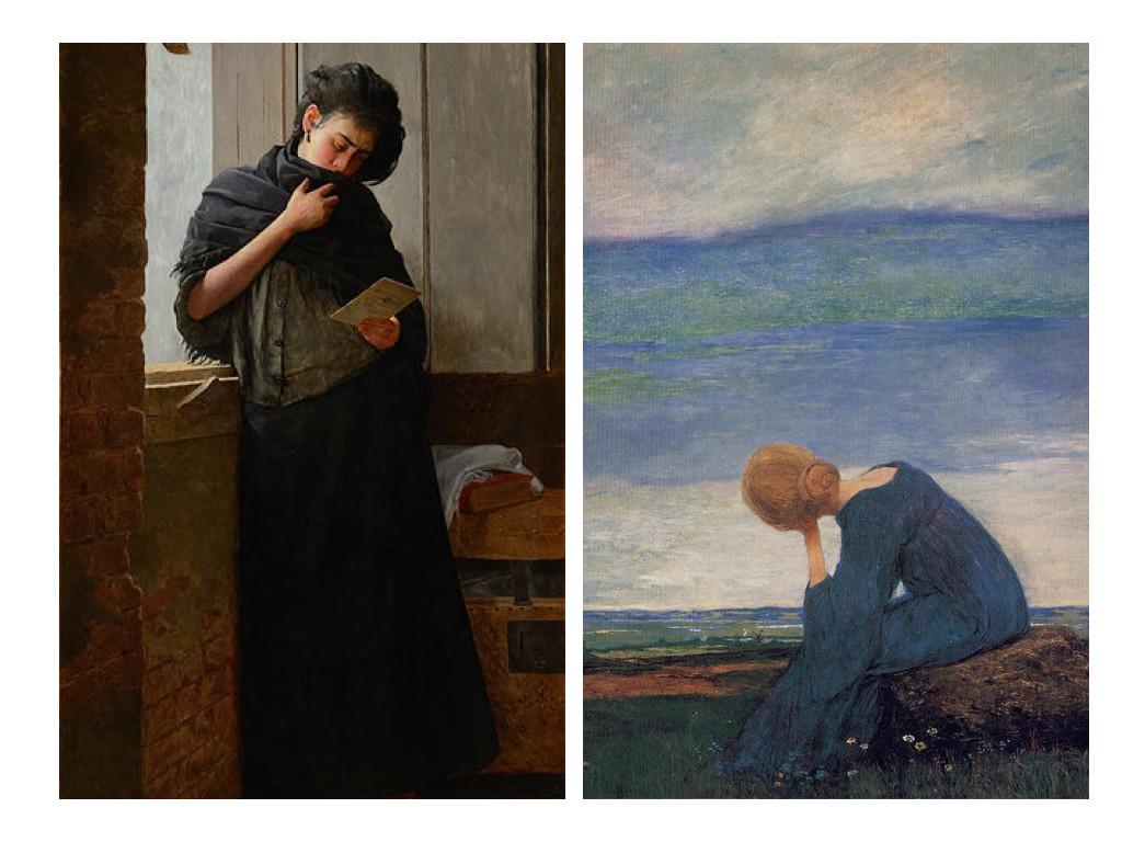 Saudade (1899) – Алмейда Хуниор / Sehnsucht (1900) - Хенрих Воглер