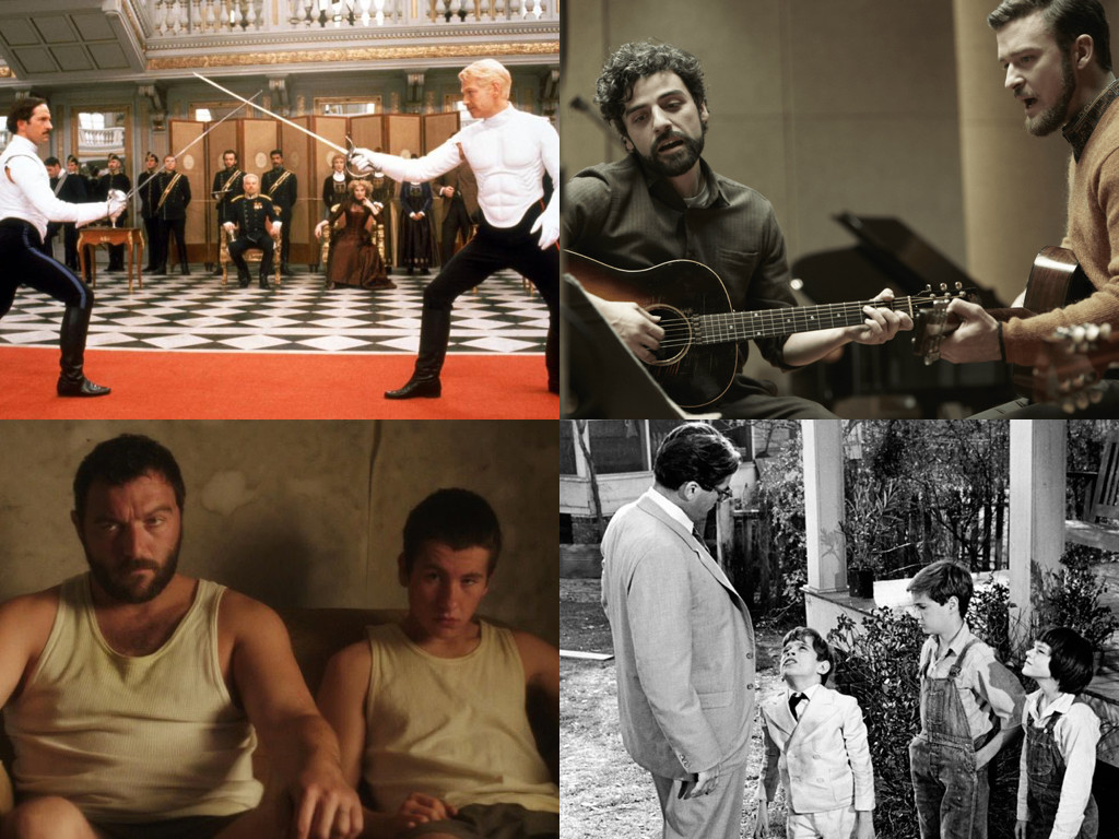 Henry V 1996, Inside Llewyn Davis 2013, Norfolk 2015, To Kill a Mockingbird 1961