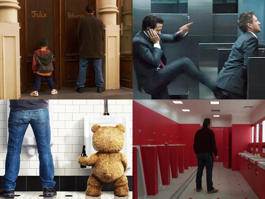 Big Daddy 1999, The Big Short 2015, Ted 2012, The Shining 1980