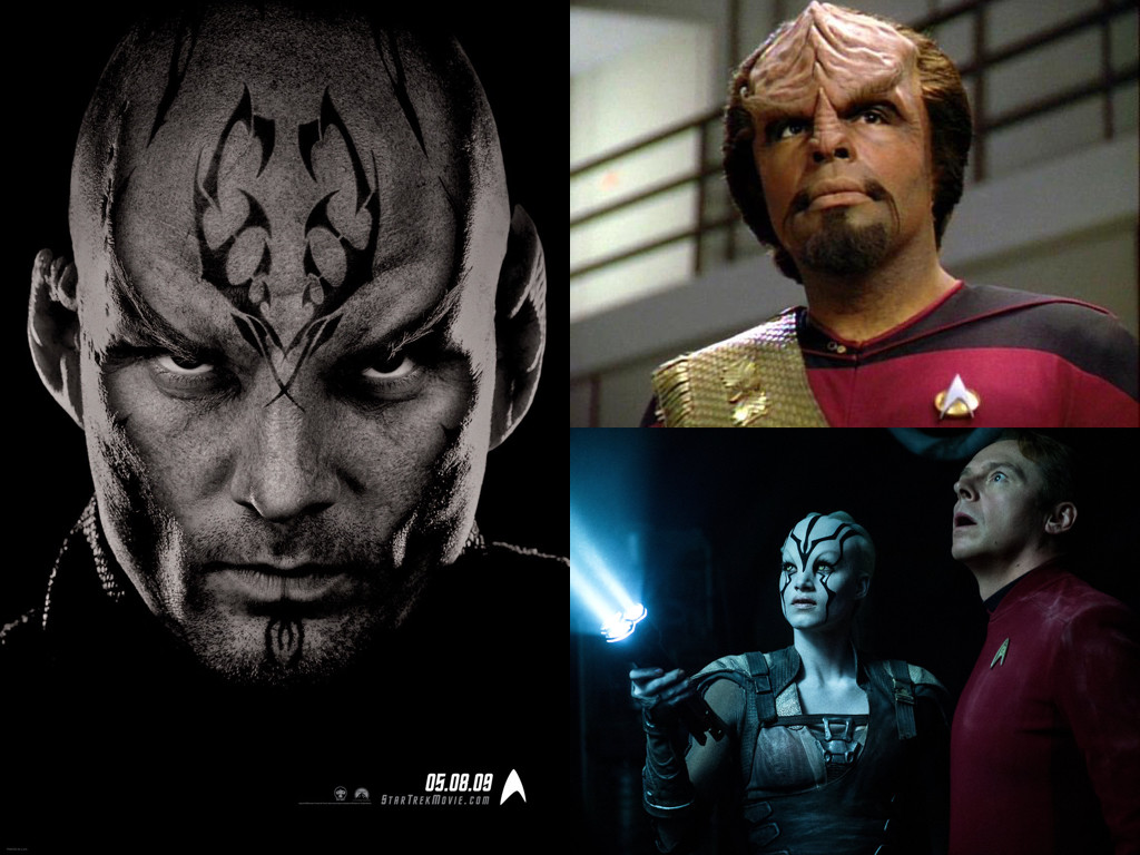 Star Trek 2009, Star Trek: The Next Generation 1987-1994, Star Trek Beyond 2016