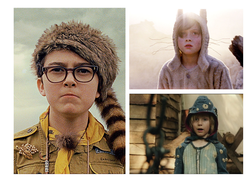 Moonrise Kingdom 2012, Where the wild things are 2009, Captain Fantastic 2016