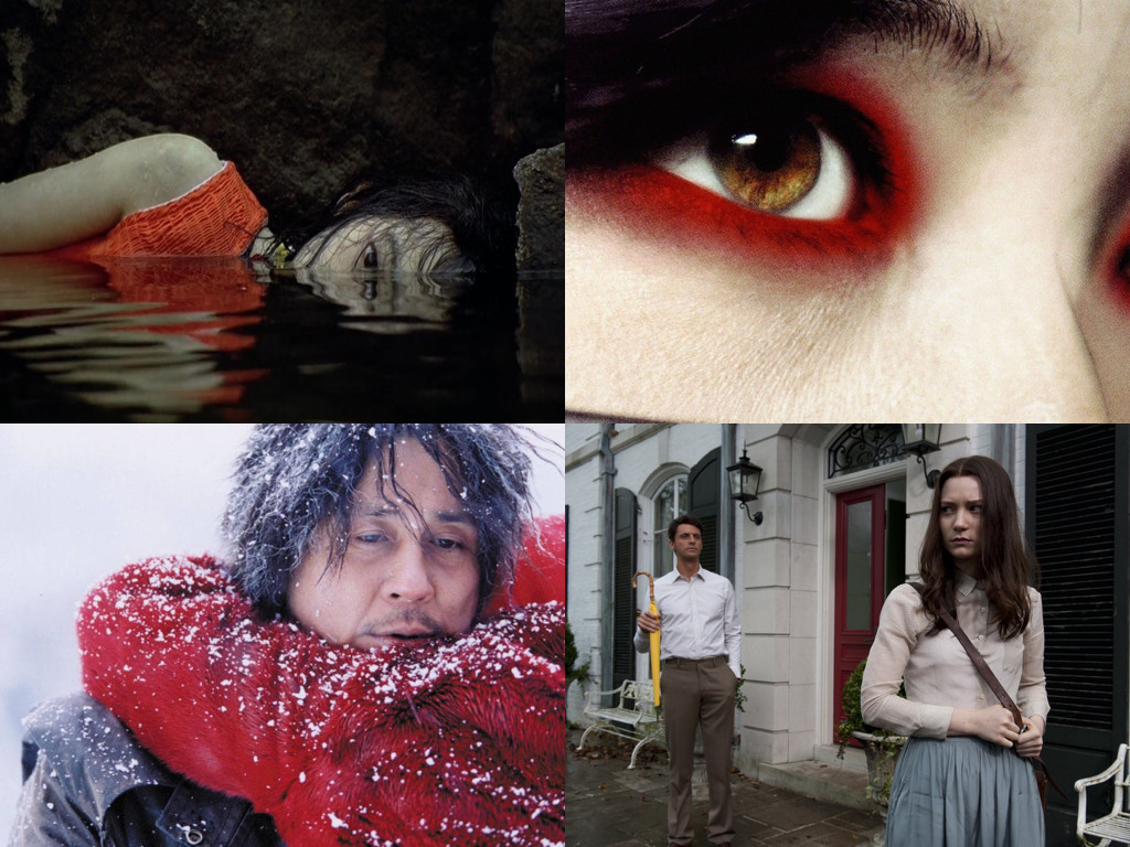 Sympathy for Mr. Vengeance 2002, Sympathy for Lady Vengeance 2005, Oldboy 2003, Stoker 2013