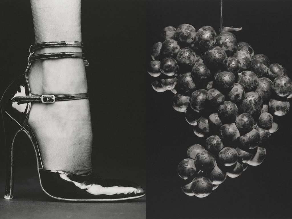 """Робърт Мейпълторп """"Мелъди (Обувка)"""", 1987 / """"Грозде"""", 1985"""