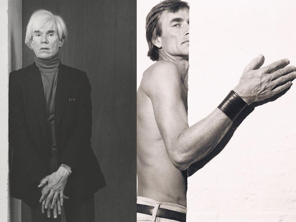 """Робърт Мейпълторп """"Анди Уорхол"""", 1980 / """"Сам Уогстаф"""", около 1972"""
