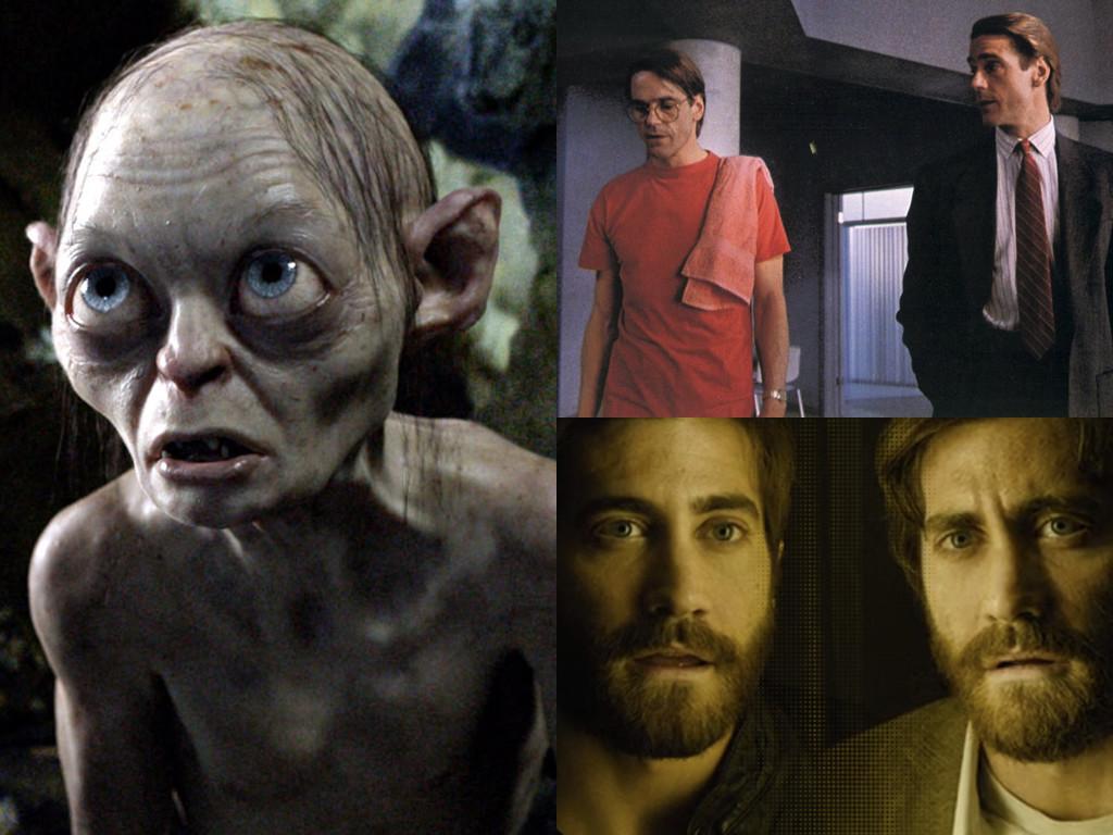 В трилогията The Lord of the Rings 2001-2003 Ам-гъл често е в диалог с алтер егото си / Dead Ringers 1988 / Enemy 2013