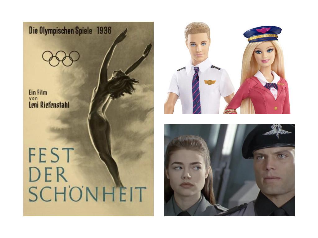 Olympia 1938 / Барби и Кен пилоти / Starship Troopers 1997