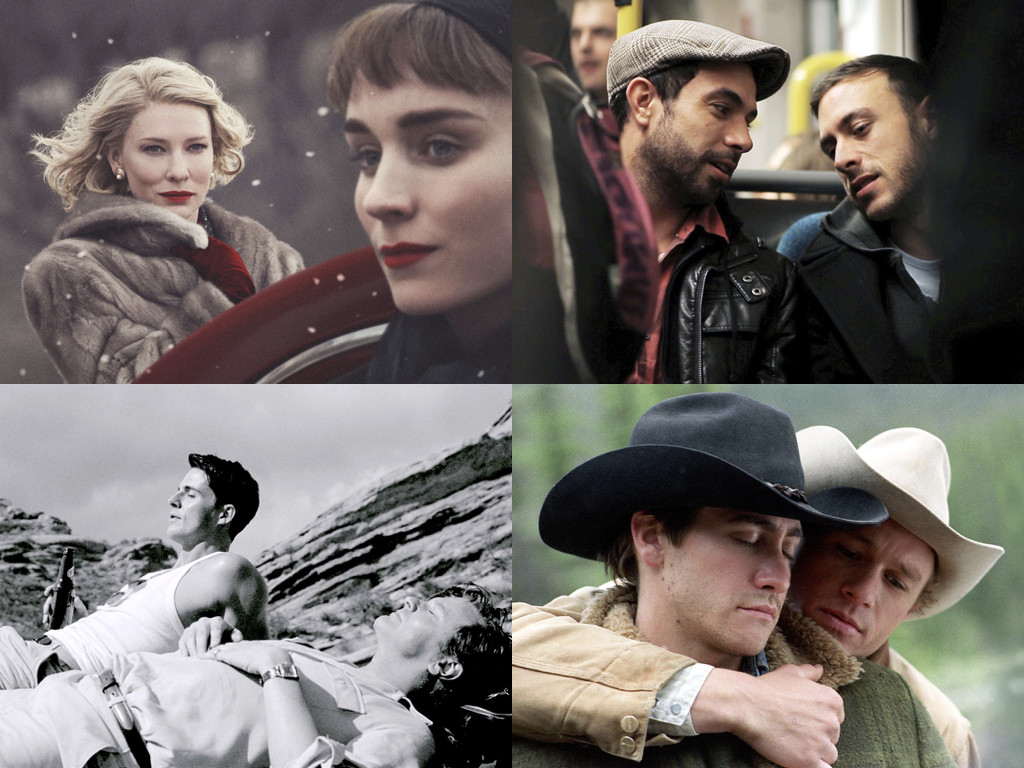 Carol 2015 / Weekend 2011 / A Single Man 2009 / Brokeback Mountain 2005