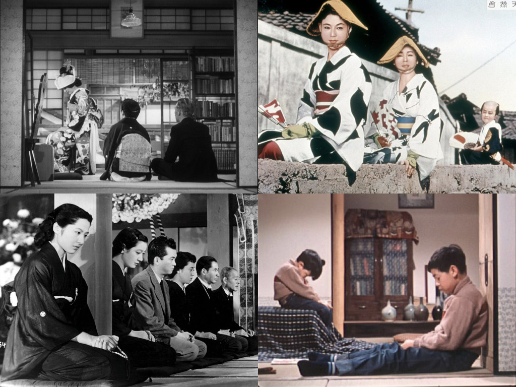 Late Spring 1949 / Floating Weeds 1959 / Tokyo Story 1953 / Good Morning 1959
