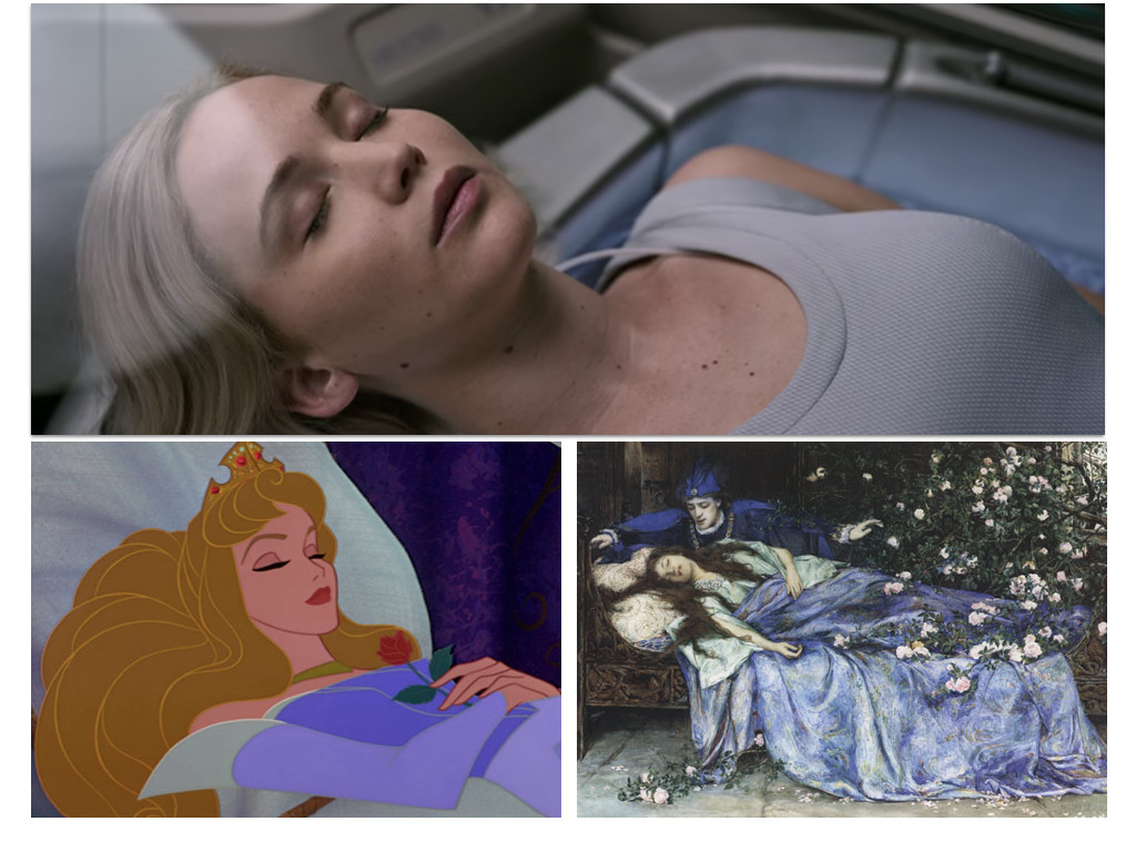 Passengers 2016 / Sleeping Beauty 1959 / Perceforest 1330