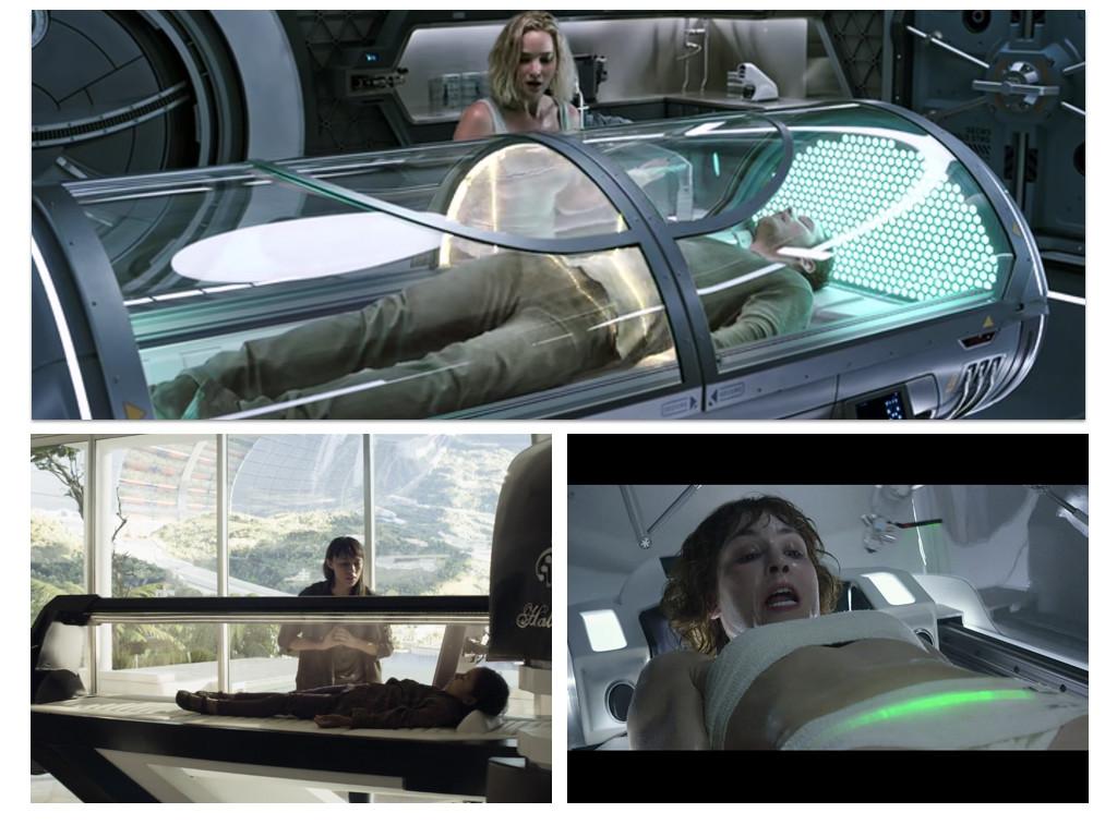 Passengers 2016 / Elysium 2013 / Prometheus 2012