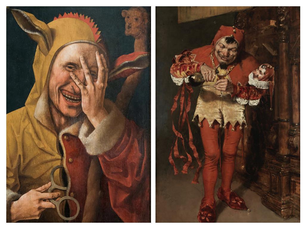 Смеещ се шут, 1500 / Дворцов шут – Уилям Мерит Чейс, 1875