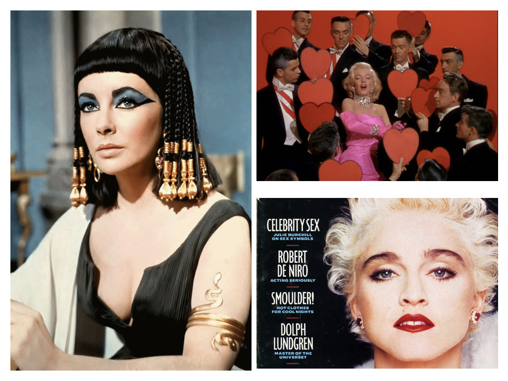 Cleopatra 1963 / Gentlemen Prefer Blondes 1953 / Корица на сп. SKY - 1987