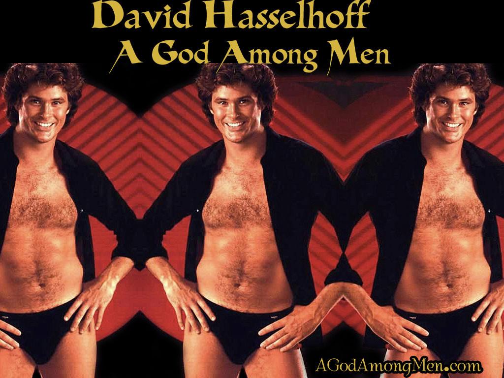 Дейвид Хаселхоф - бог сред мъжете