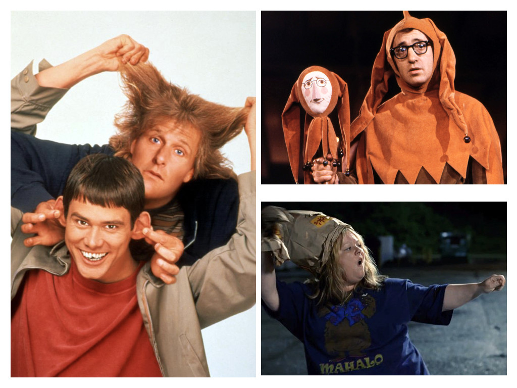 Dumb and Dumber 1994 / Everything You Always Wanted to Know About Sex But Were Afraid to Ask 1972 / Tammy 2014