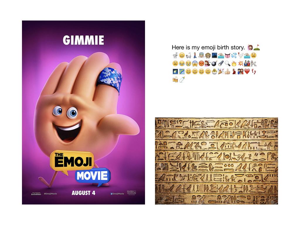 Най-бързо развиващият се език в света – 92% от комуникиращите онлайн използват емоджи / Египетски йероглифи