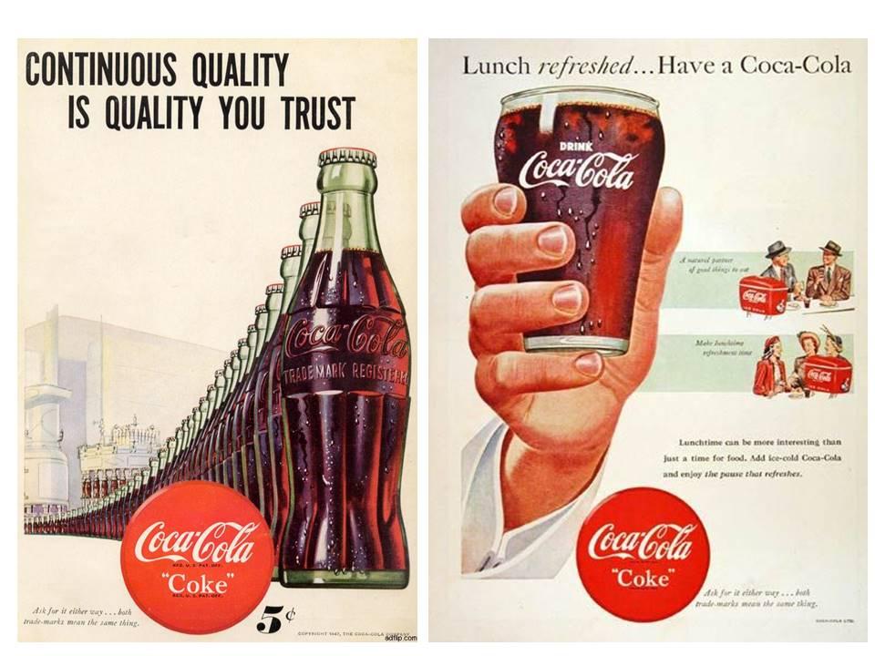 Рекламни плакати от '40-те
