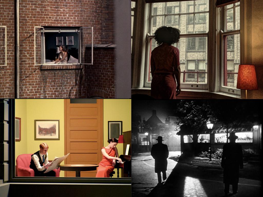 Rear Window 1954, фотография: Кристофър Дан-Бергман - Window Woman 2013, Shirley: Visions of Reality 2013, The Killers 1946