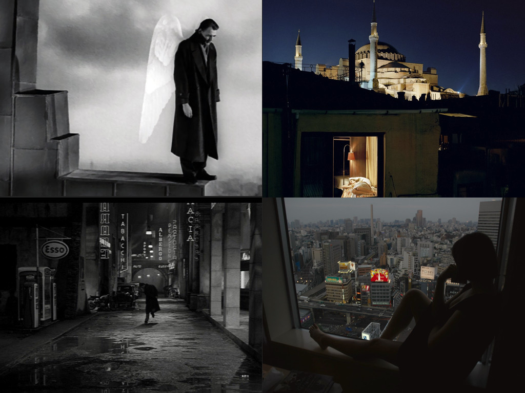 Wings Of Desire 1987, фотография: Флориан де Ласе - Жена лежи на легло в Истанбул, White Nights 1957, Lost In Translation 2003