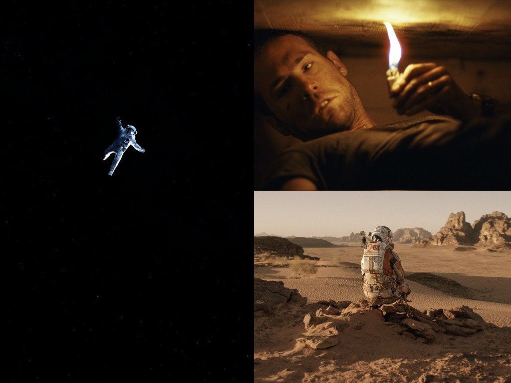 Gravity 2013, Buried 2010, The Martian 2015