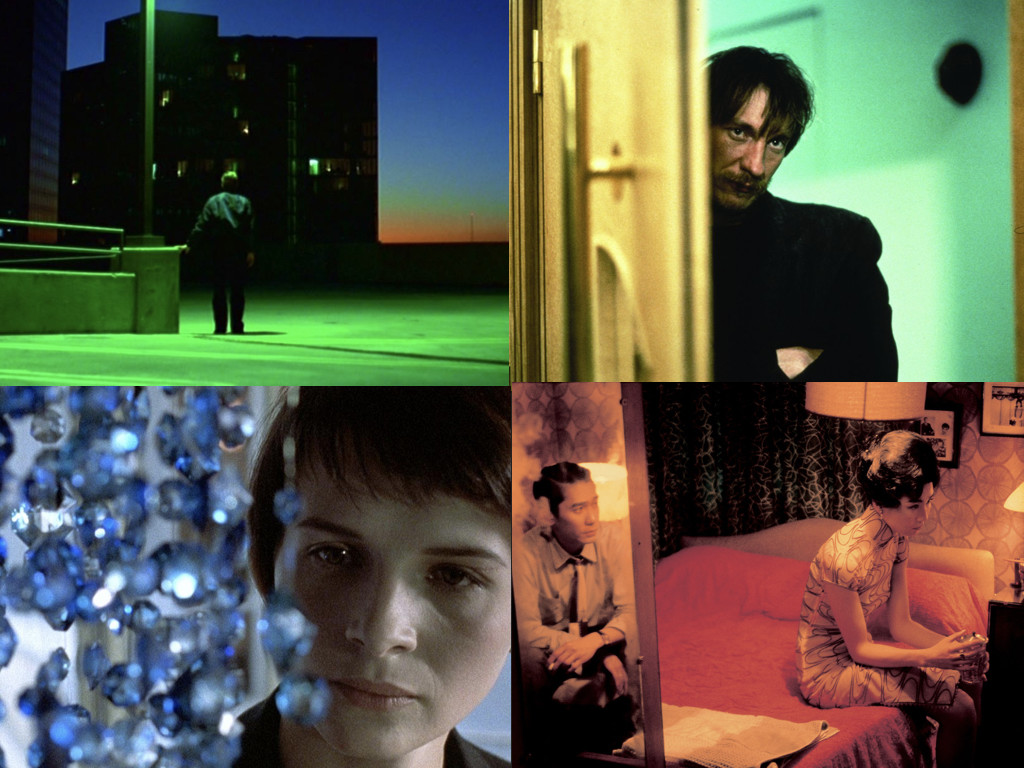 Paris, Texas 1984, Naked 1993, Three Colors: Blue 1993, In the Mood for Love 2000