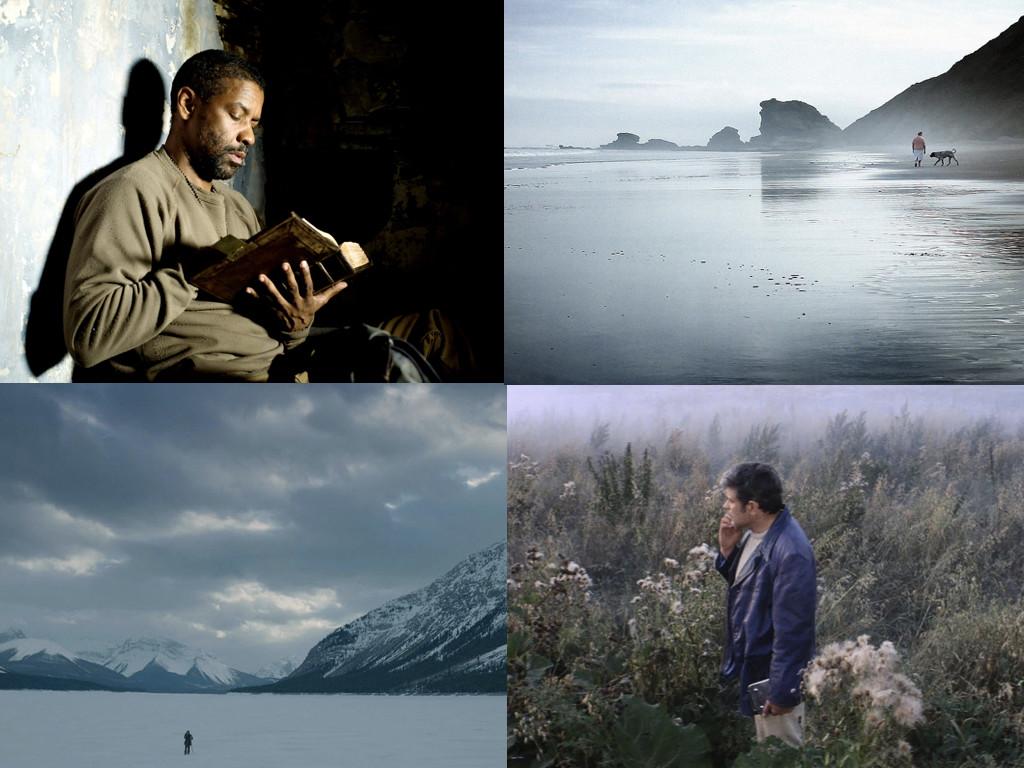 The Book of Eli 2010, Silencio en la tierra de los suenos 2013, The Revenant 2015, Solaris 1972