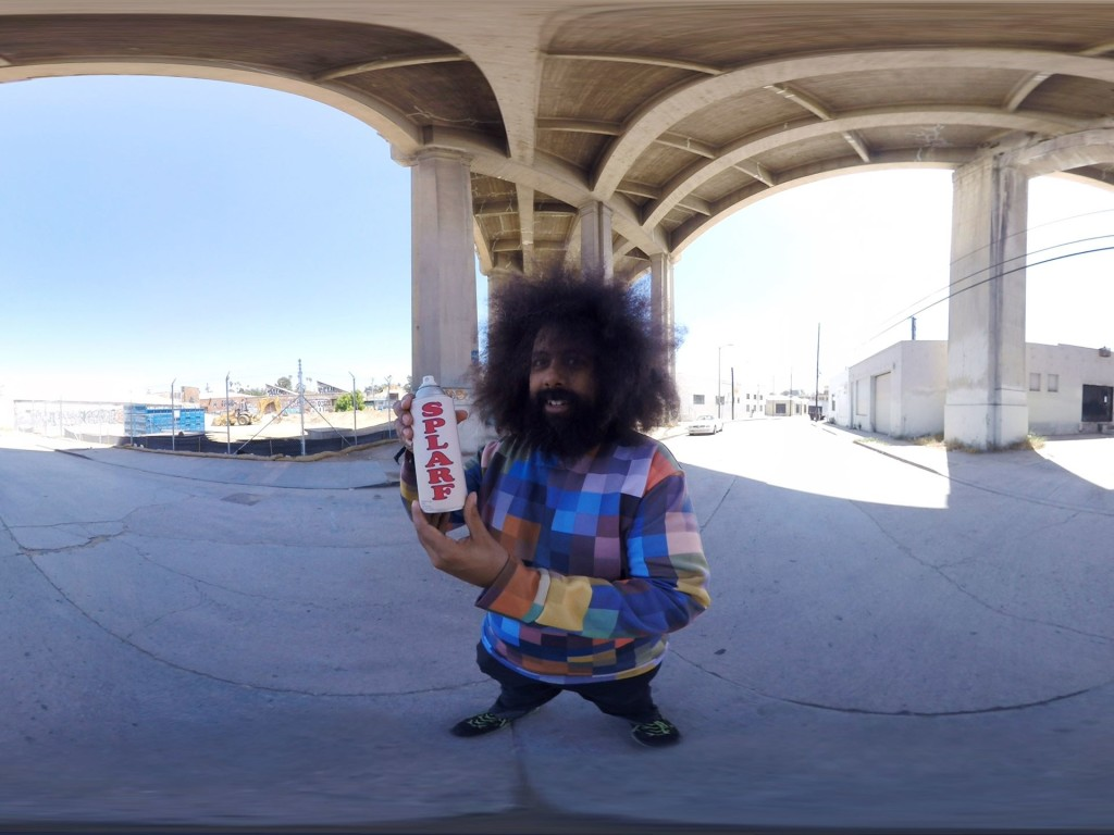 Reggie Watts в Waves