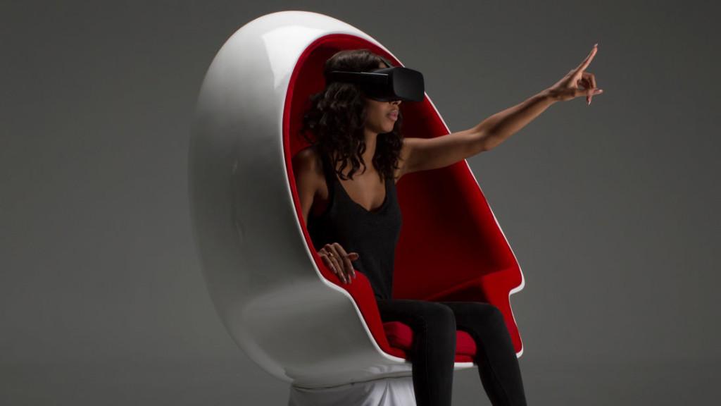 VR стол Voyager на Positron
