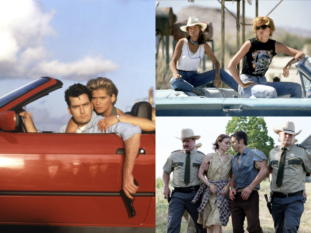 The Chase 1994, Thelma & Louise 1991, Ain't Them Bodies Saints 2013