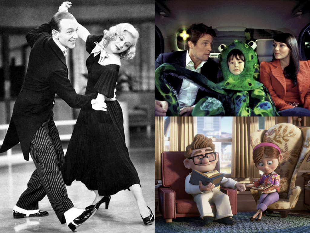 Swing Time 1936 / Love Actually 2003 / Up 2009