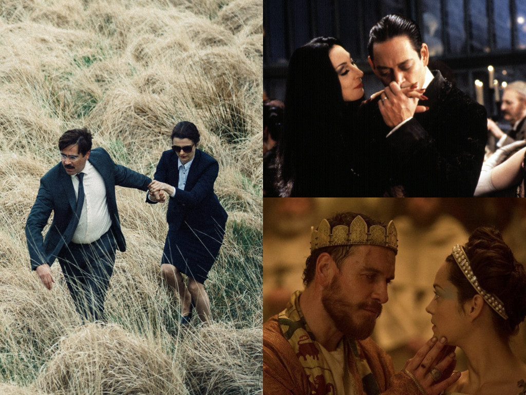 The Lobster 2015 / The Addams Family 1991 / Macbeth 2015