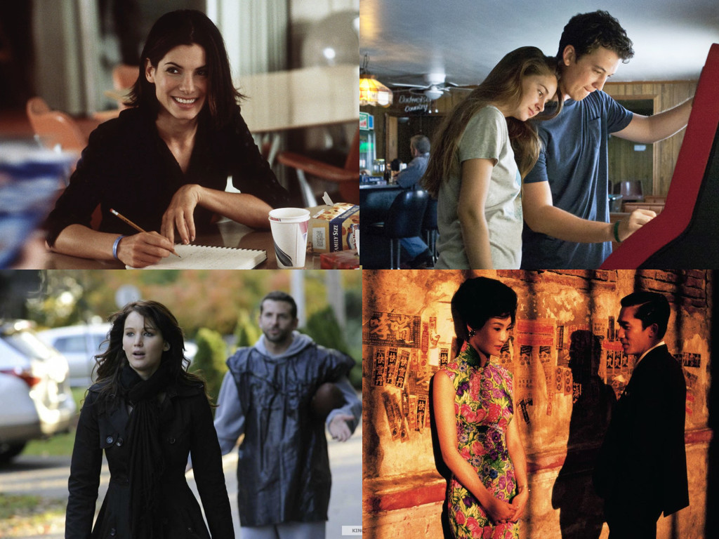 28 Days 2000 / The Spectacular Now 2013 / Silver Linings Playbook 2012 / In the Mood for Love 2000