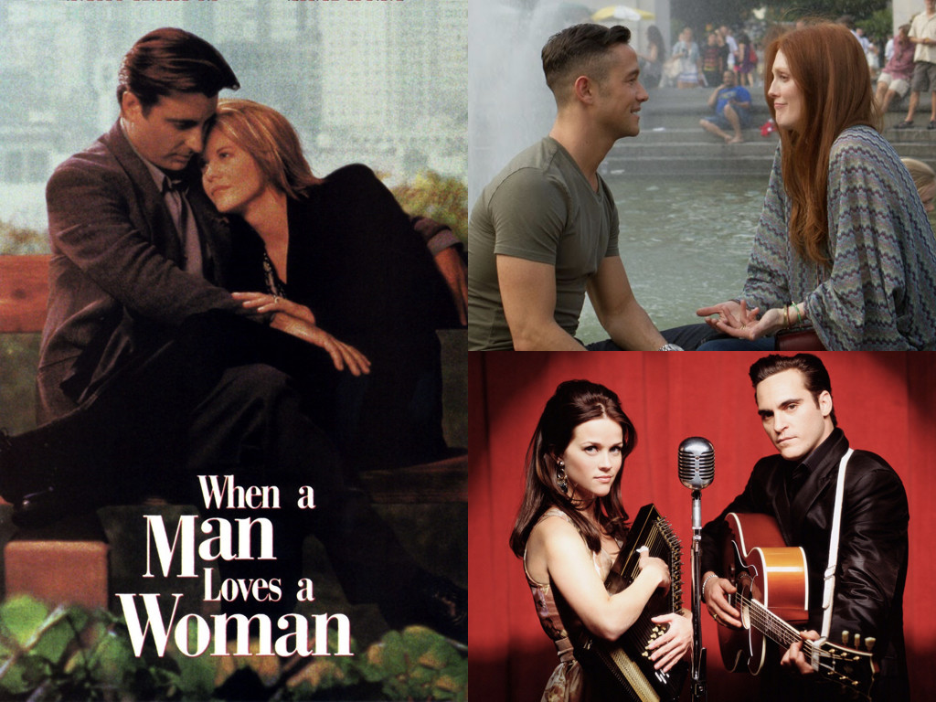 When a Man Loves a Woman 1994 / Don Jon 2013 / Walk the Line 2005