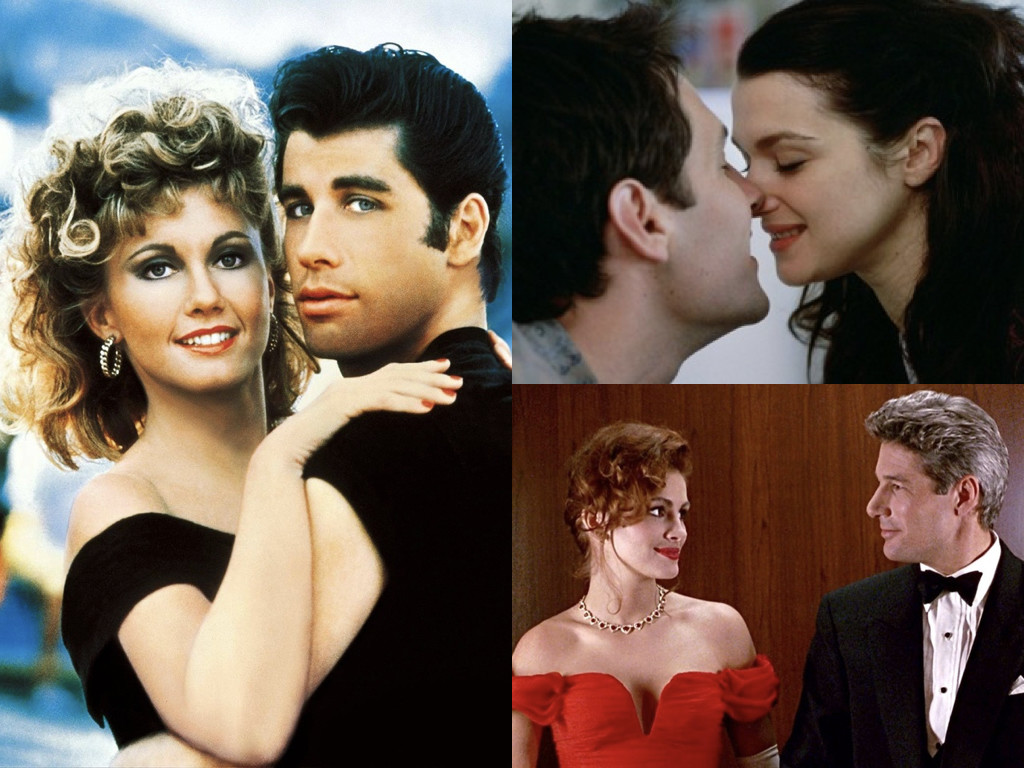 Grease 1978 / The Shape of Things 2003 / Pretty Woman 1990
