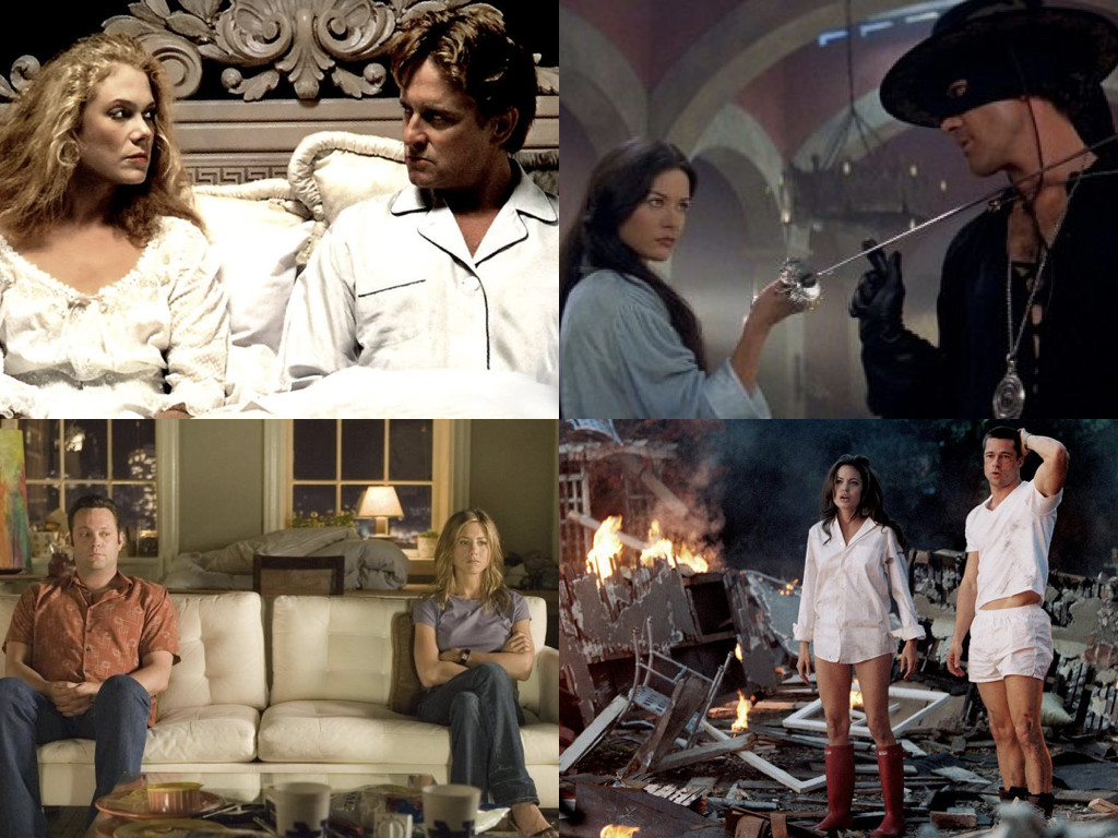 The War of the Roses 1989 / The Mask of Zorro 1998 / The Break-Up 2006 / Mr. & Mrs. Smith 2005