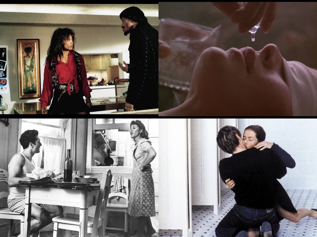 What's Love Got to Do with It 1993 / 9½ Weeks 1986 / Raging Bull 1980 / The Piano Teacher 2001
