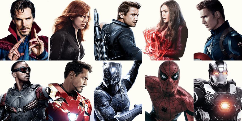 Герои на Marvel