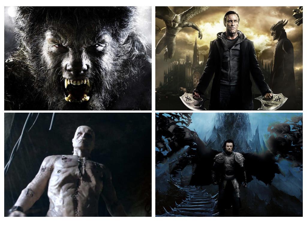 The Wolfman 2010 / I, Frankenstein 2014 / Victor Frankenstein 2015 / Dracula Untold 2014