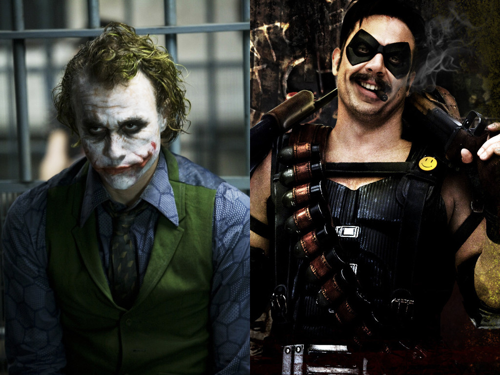 The Dark Knight 2008 / The Watchmen 2009