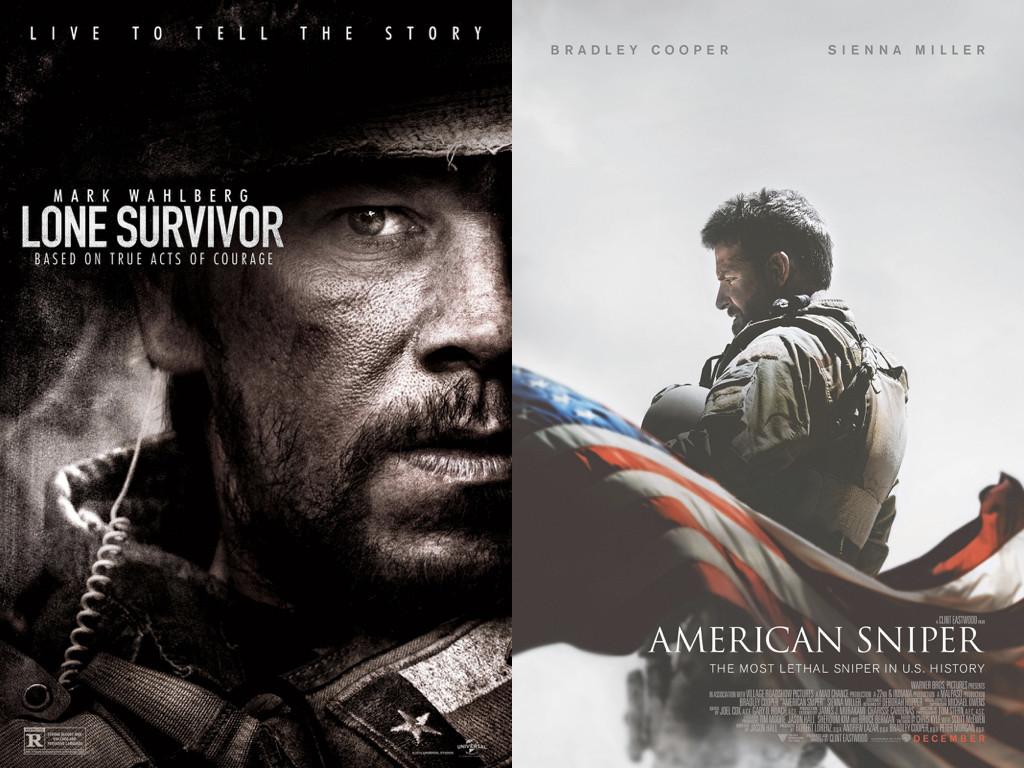 Lone Survivor 2013 / American Sniper 2014