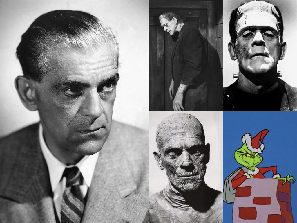 Като чудовището на Франкенщайн във Frankenstein 1931 и Bride of Frankenstein 1935 / като Имхотеп в The Mummy 1932 / той е Разказвачът и гласът на Гриндж в How the Grinch Stole Christmas! 1966