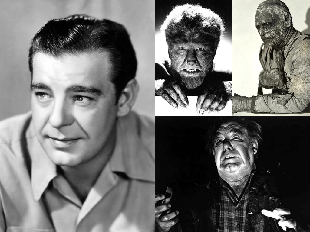 Като Върколакът в The Wolf Man 1941 / като мумия в The Mummy's Tomb 1942 / като немия слуга в Dracula vs. Frankenstein 1971 – гримът не може да скрие следите на тежкия алкохолизъм, с който се бори до края на живота си.