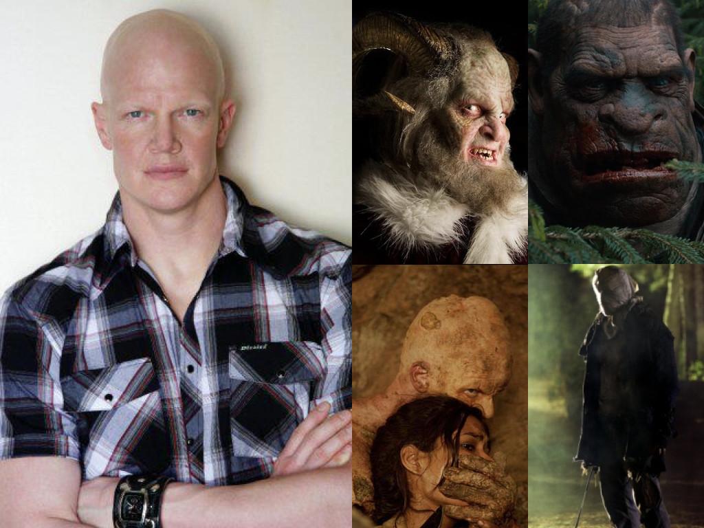 Като Крампус в Grimm 2011 / като великана Едуард в Hansel & Gretel: Witch Hunters 2013 / като Хамелеона в The Hills Have Eyes II 2007 / като Джейсън във Friday the 13th 2009