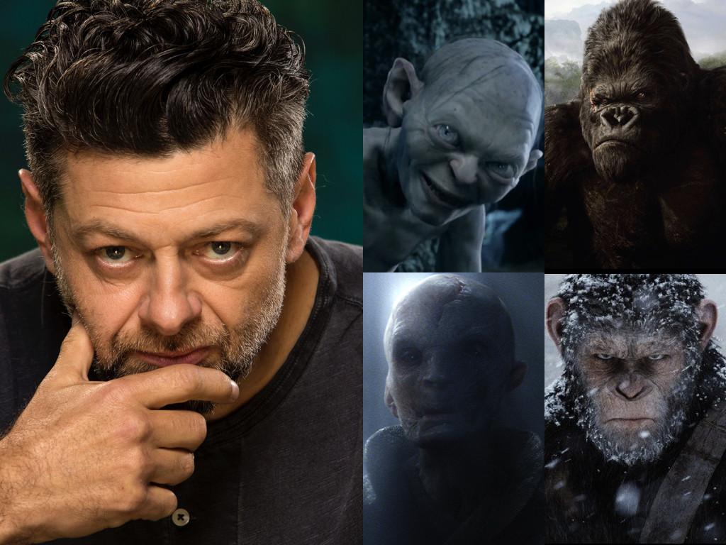 Като Смеагол/Ам-Гъл в поредицата The Lord of the Rings 2001-2003 / като Конг в King Kong 2005 / като Сноук в Star Wars: Episode VII - The Force Awakens 2015 / като Цезар в War for the Planet of the Apes 2017