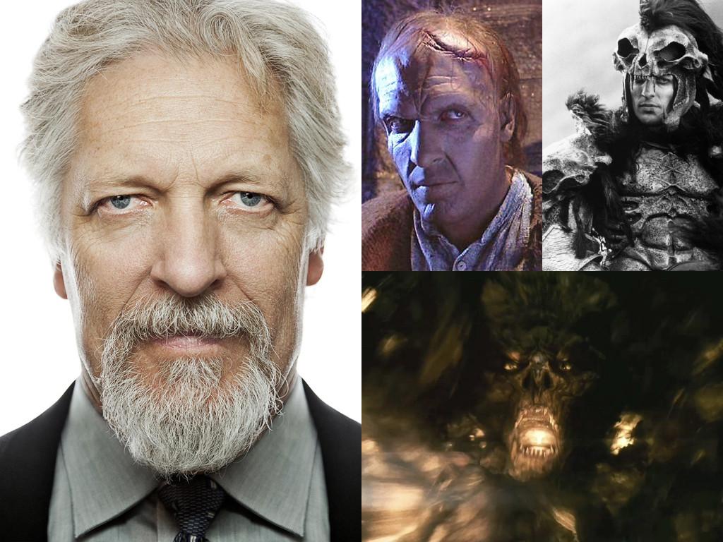 Като Виктор в The Bride 1985, химикалите от маската ще го вкарат в болница / затова като Виктор Крюгер в Highlander 1986 отказва да носи тежък грим / дава гласа си на Паралакс в Green Lantern 2011